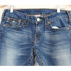 True Religion Jeans - True Religion Joey Jean Flare Twisted Seam…